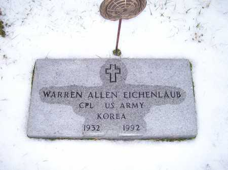 EICHENLAUB, WARREN ALLEN - Scioto County, Ohio | WARREN ALLEN EICHENLAUB - Ohio Gravestone Photos