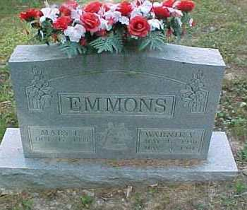 EMMONS, WARNIE V. - Scioto County, Ohio | WARNIE V. EMMONS - Ohio Gravestone Photos