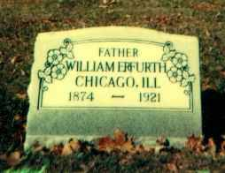 ERFURTH, WILLIAM - Scioto County, Ohio | WILLIAM ERFURTH - Ohio Gravestone Photos