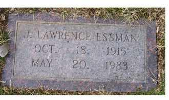 ESSMAN, J. LAWRENCE - Scioto County, Ohio | J. LAWRENCE ESSMAN - Ohio Gravestone Photos