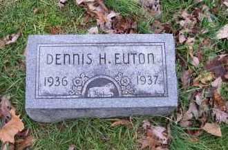 EUTON, DENNIS H. - Scioto County, Ohio | DENNIS H. EUTON - Ohio Gravestone Photos