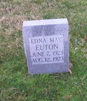 EUTON, EDNA MAY - Scioto County, Ohio | EDNA MAY EUTON - Ohio Gravestone Photos