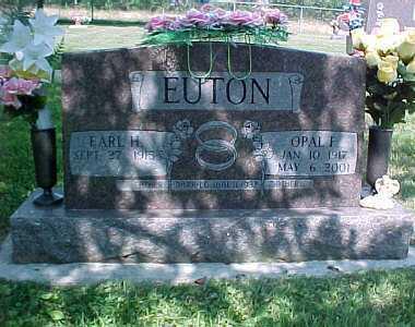 EUTON, EARL H. - Scioto County, Ohio | EARL H. EUTON - Ohio Gravestone Photos