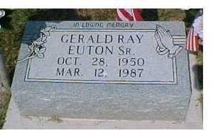 EUTON, GERALD RAY - Scioto County, Ohio | GERALD RAY EUTON - Ohio Gravestone Photos