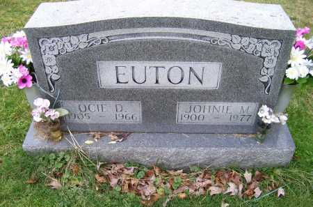 EUTON, JOHNIE M. - Scioto County, Ohio | JOHNIE M. EUTON - Ohio Gravestone Photos
