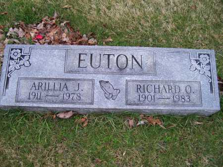 EUTON, RICHARD O. - Scioto County, Ohio | RICHARD O. EUTON - Ohio Gravestone Photos