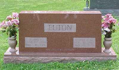 EUTON, ROBERT H. SR. - Scioto County, Ohio | ROBERT H. SR. EUTON - Ohio Gravestone Photos