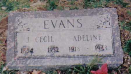 EVANS, ADELINE - Scioto County, Ohio | ADELINE EVANS - Ohio Gravestone Photos