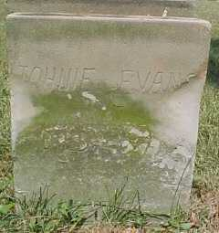 EVANS, JOHNIE - Scioto County, Ohio | JOHNIE EVANS - Ohio Gravestone Photos