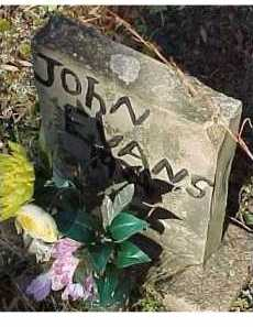 EVANS, JOHN - Scioto County, Ohio | JOHN EVANS - Ohio Gravestone Photos