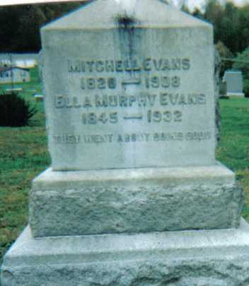 EVANS, MITCHELL - Scioto County, Ohio | MITCHELL EVANS - Ohio Gravestone Photos