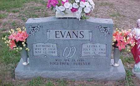 EVANS, RAYMOND E. - Scioto County, Ohio | RAYMOND E. EVANS - Ohio Gravestone Photos
