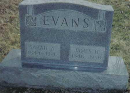 EVANS, SARAH A. - Scioto County, Ohio | SARAH A. EVANS - Ohio Gravestone Photos