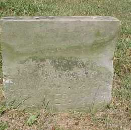 EVANS, UNKNOWN - Scioto County, Ohio | UNKNOWN EVANS - Ohio Gravestone Photos