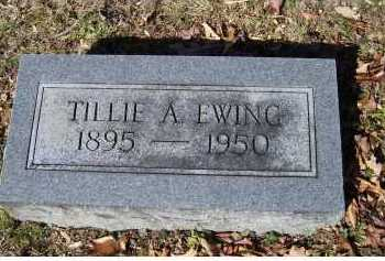EWING, TILLIE A. - Scioto County, Ohio | TILLIE A. EWING - Ohio Gravestone Photos