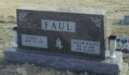 SMITH FAUL, EUNICE J. - Scioto County, Ohio | EUNICE J. SMITH FAUL - Ohio Gravestone Photos