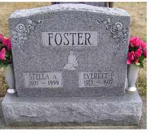 FOSTER, EVERETT P. - Scioto County, Ohio | EVERETT P. FOSTER - Ohio Gravestone Photos