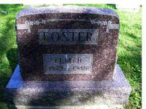 FOSTER, ELMER - Scioto County, Ohio | ELMER FOSTER - Ohio Gravestone Photos
