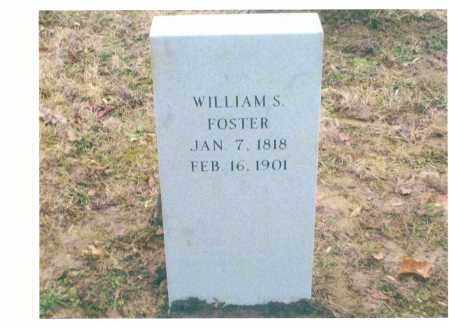FOSTER, WILLIAM S. - Scioto County, Ohio | WILLIAM S. FOSTER - Ohio Gravestone Photos