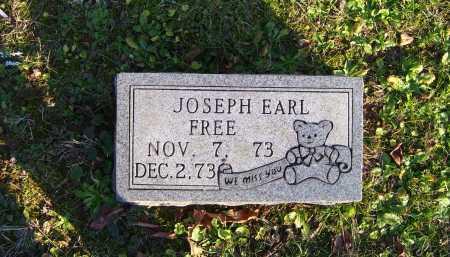 FREE, JOSEPH EARL - Scioto County, Ohio | JOSEPH EARL FREE - Ohio Gravestone Photos