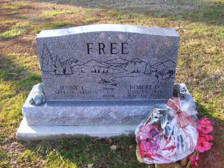 FREE, JENNY L. - Scioto County, Ohio | JENNY L. FREE - Ohio Gravestone Photos