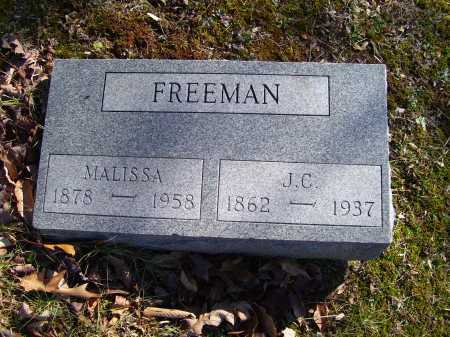 FREEMAN, J.C. - Scioto County, Ohio | J.C. FREEMAN - Ohio Gravestone Photos