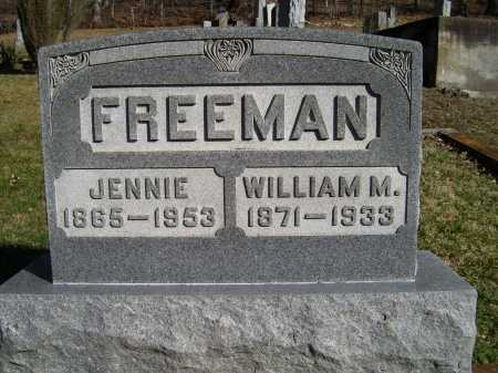 FREEMAN, JENNIE - Scioto County, Ohio | JENNIE FREEMAN - Ohio Gravestone Photos