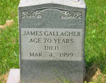 GALLAGHER, JAMES - Scioto County, Ohio | JAMES GALLAGHER - Ohio Gravestone Photos