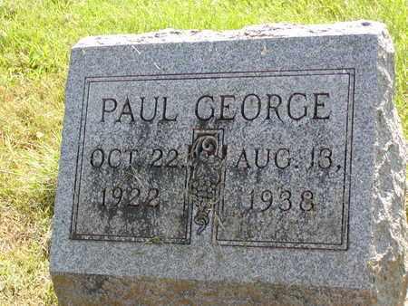 GEORGE, PAUL - Scioto County, Ohio | PAUL GEORGE - Ohio Gravestone Photos