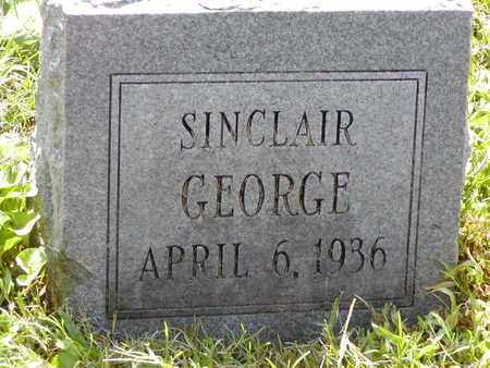 GEORGE, SINCLAIR - Scioto County, Ohio | SINCLAIR GEORGE - Ohio Gravestone Photos