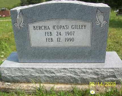 COPAS GILLEY, BERCHA - Scioto County, Ohio | BERCHA COPAS GILLEY - Ohio Gravestone Photos