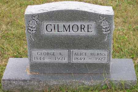 BURNS GILMORE, ALICE - Scioto County, Ohio | ALICE BURNS GILMORE - Ohio Gravestone Photos