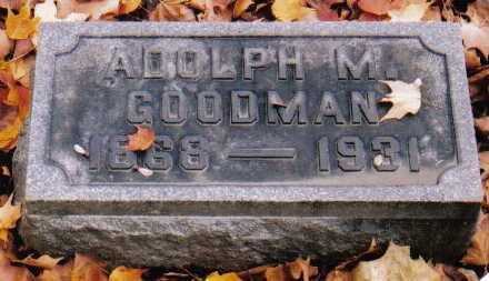 GOODMAN, ADOLPH M. - Scioto County, Ohio | ADOLPH M. GOODMAN - Ohio Gravestone Photos