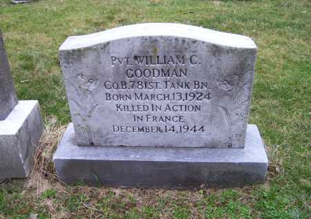 GOODMAN, WILLIAM C. - Scioto County, Ohio | WILLIAM C. GOODMAN - Ohio Gravestone Photos