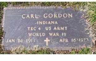 GORDON, CARL - Scioto County, Ohio | CARL GORDON - Ohio Gravestone Photos