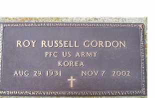 GORDON, ROY RUSSELL - Scioto County, Ohio | ROY RUSSELL GORDON - Ohio Gravestone Photos