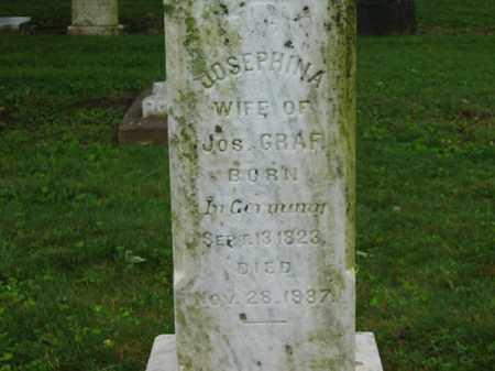GRAF, JOSEPHINA - Scioto County, Ohio | JOSEPHINA GRAF - Ohio Gravestone Photos