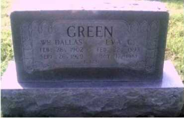GREEN, EVA C. - Scioto County, Ohio | EVA C. GREEN - Ohio Gravestone Photos