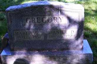 GREGORY, MARTHA A. - Scioto County, Ohio | MARTHA A. GREGORY - Ohio Gravestone Photos