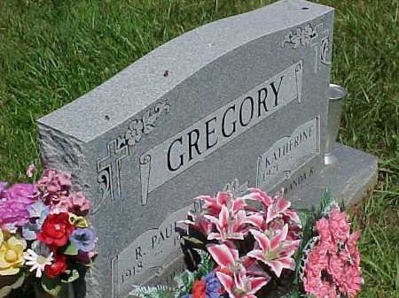 GREGORY, KATHERINE - Scioto County, Ohio | KATHERINE GREGORY - Ohio Gravestone Photos