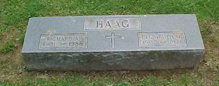HAAG, ELIZABETH M. - Scioto County, Ohio | ELIZABETH M. HAAG - Ohio Gravestone Photos