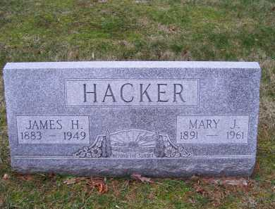 HACKER, JAMES H. - Scioto County, Ohio | JAMES H. HACKER - Ohio Gravestone Photos