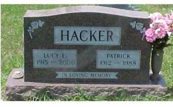 HACKER, LUCY L. - Scioto County, Ohio | LUCY L. HACKER - Ohio Gravestone Photos