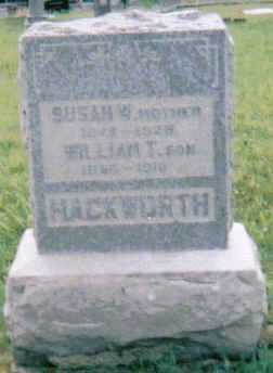 HACKWORTH, SUSAN - Scioto County, Ohio | SUSAN HACKWORTH - Ohio Gravestone Photos