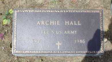 HALL, ARCHIE - Scioto County, Ohio | ARCHIE HALL - Ohio Gravestone Photos