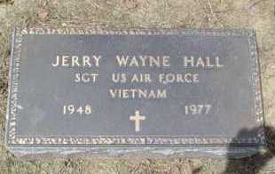 HALL, JERRY WAYNE - Scioto County, Ohio | JERRY WAYNE HALL - Ohio Gravestone Photos