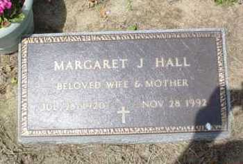 HALL, MARGARET J. - Scioto County, Ohio | MARGARET J. HALL - Ohio Gravestone Photos