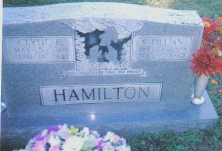 HAMILTON, CLYDE E. - Scioto County, Ohio | CLYDE E. HAMILTON - Ohio Gravestone Photos
