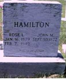 HAMILTON, ROSE L. - Scioto County, Ohio | ROSE L. HAMILTON - Ohio Gravestone Photos