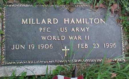 HAMILTON, MILLARD - Scioto County, Ohio | MILLARD HAMILTON - Ohio Gravestone Photos